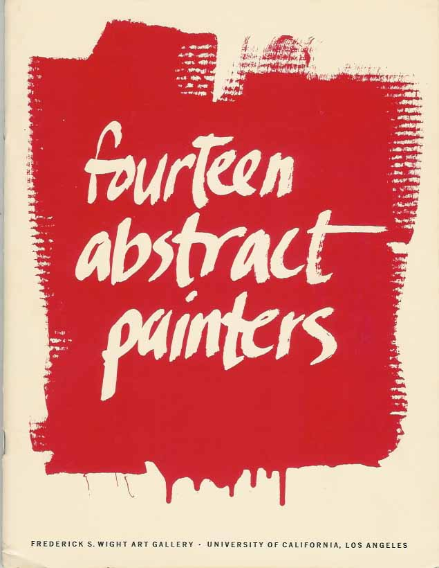 NORDLAND, GERALD (ORGANISER EXHIBITION). - Fourteen Abstract Painters.