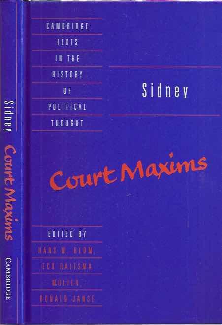 BLOM, HANS W., ECO HAITSMA MULIER, RONALD JANSE (EDS.). - Sidney: Court Maxims.